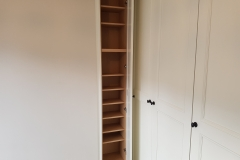 Corner Wardrobe shelves